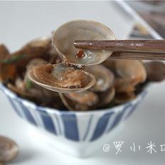 爆炒花蛤喇
