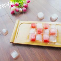 水晶西瓜冰