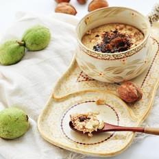 青核桃炖蛋#铁釜煮饭就是香#