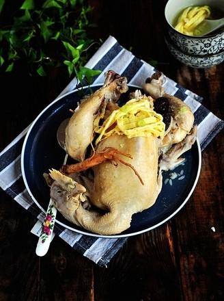 韩式参鸡汤--的做法