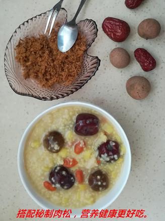 小米红枣营养粥的做法