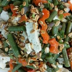 燕麦拌豇豆