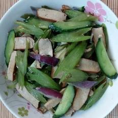 芹菜炒豆干黄瓜
