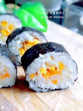 土豆鸡蛋寿司的做法
