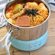 韩式芝士年糕部队锅