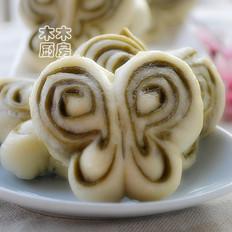 抹茶蝴蝶卷