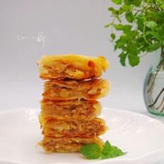 广东榨菜鲜肉千层饼