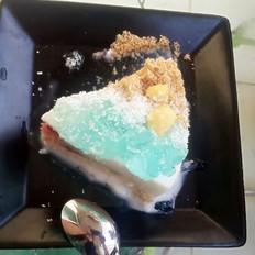 惬意海滩蛋糕