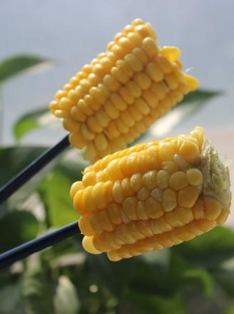 微波炉玉米的做法