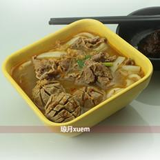 牛肉丸粿条(浓郁版)