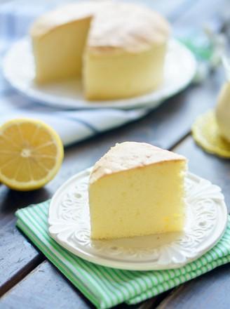 柠檬戚风蛋糕#美的嵌入式烤箱#的做法