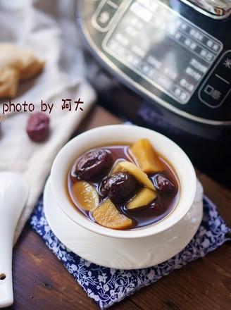 生姜苹果红枣汤#苏泊尔第二季晋级赛#的做法