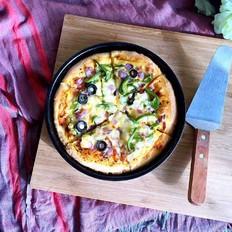 8寸蔬菜披萨