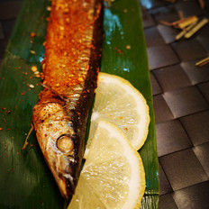 香茅草烤秋刀鱼的做法[图]