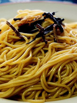 老上海葱油拌面的做法