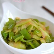 西瓜皮炒尖椒