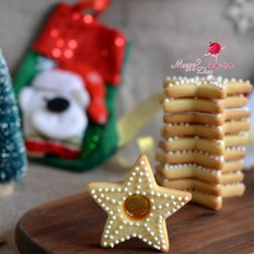 焦糖芯糖霜饼干
