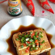 黄金脆皮豆腐#金鸡报喜合家乐#