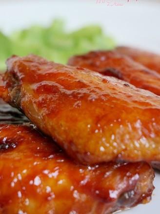 烤番茄酱鸡翅