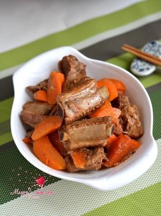 红烧排骨胡萝卜的做法