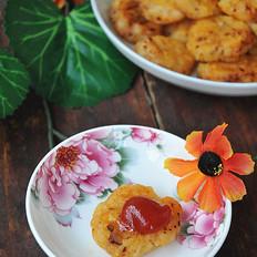 #湖南小吃#香辣土豆饼