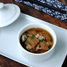 竹荪肉末汤
