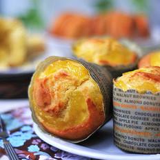 椰香菠萝小蛋糕#樱花味道#
