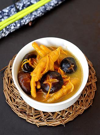 苏泊尔·香菇虫草凤爪汤的做法