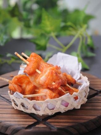 香辣鸡胸肉串