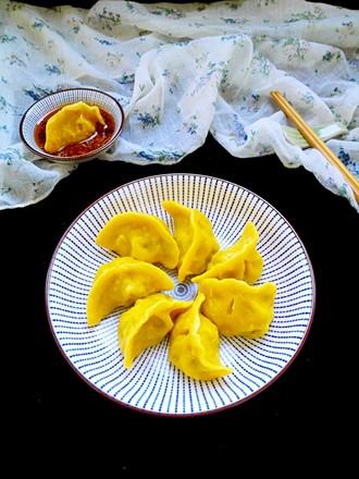 黄金韭菜饺#年夜饭#的做法