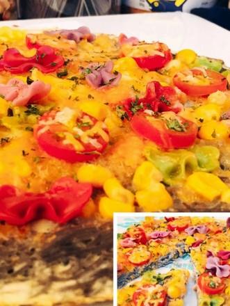 宝宝辅食――多彩披萨的做法