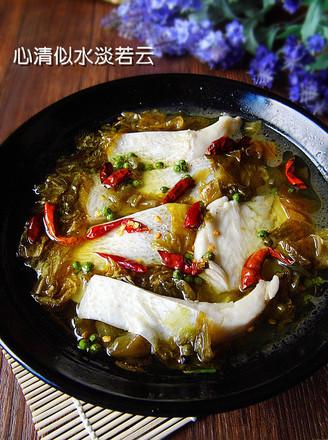 青花椒酸菜鱼的做法
