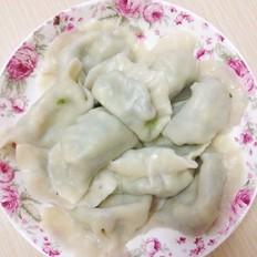 鸡蛋韭菜饺子