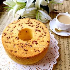 蔓越莓淡奶油蛋糕(7寸中空)