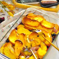 法式橙香蛋奶砂窝