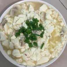 #孕妇菜谱#蘑菇豆腐