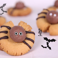 万圣节整蛊礼物---蜘蛛饼干
