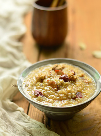 藜麦小米粥的做法