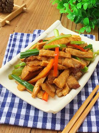 三丝回锅肉的做法