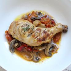 意式松露蘑菇番茄炖鸡