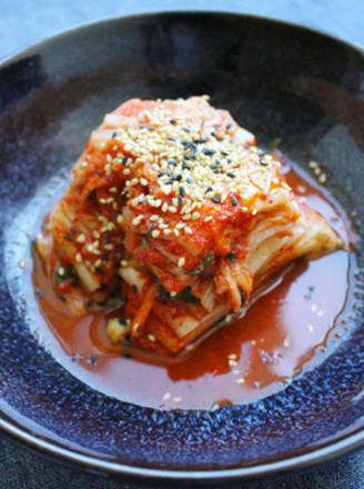 正宗韩国泡菜的做法