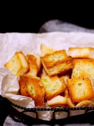 香葱面包片