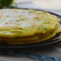 西葫芦鸡蛋软饼-10分钟轻松做早餐