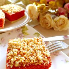 红丝绒海绵蛋糕