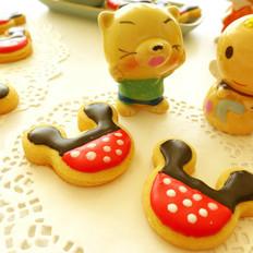 黄油糖霜卡通饼干