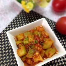 西红柿茄丁