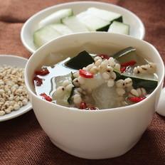 鸭肉薏米冬瓜汤
