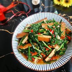 韭菜炒熏干