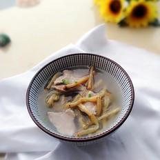 鱼腥草瘦肉汤