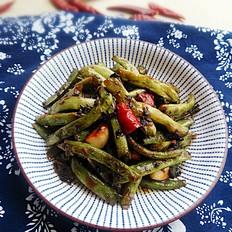 橄榄菜烧四季豆